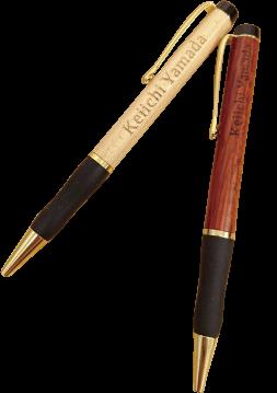 グリップウッドボールペン