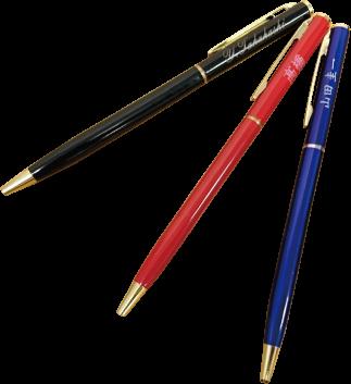 メタルスリムボールペン