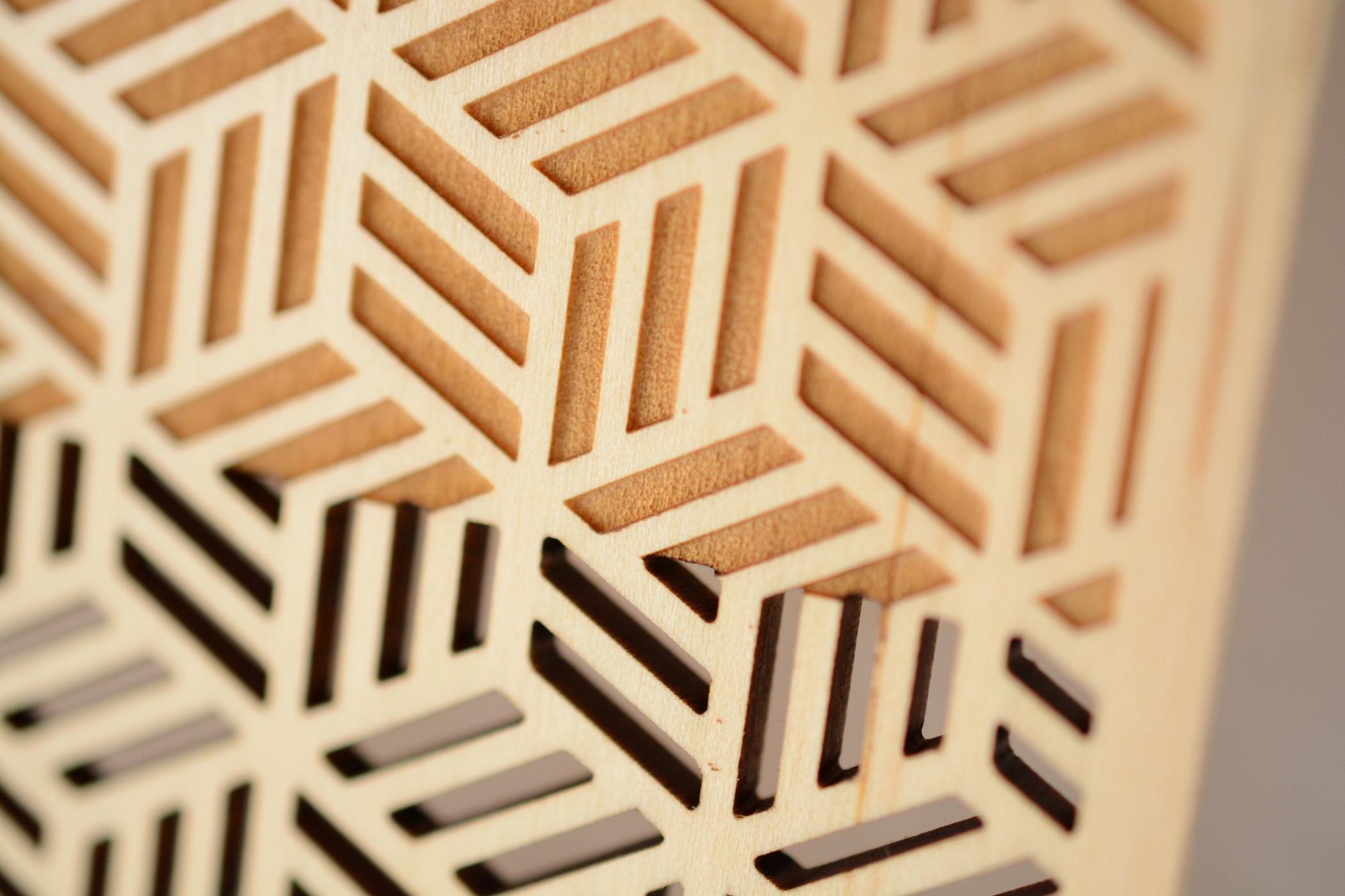レーザー用木板材10